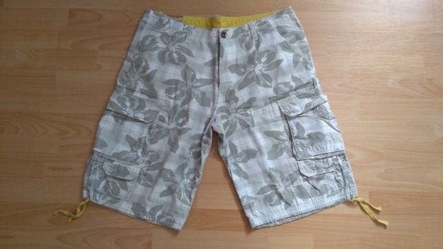 Deep męskie spodenki szorty bermudy spodnie na lato XL obwód pas 94 cm