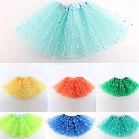 Фатиновая юбка пачка ту ту для танцев, балета. Девочкам 2-7 лет
