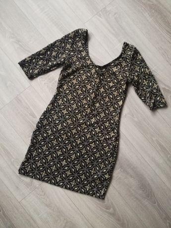 Sukienka mini z brokatem Atmosphere