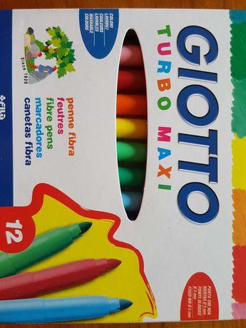 Marcadores Giotto turbo maxi(12)para crianças de 2 anos