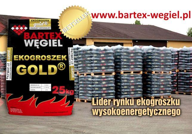 """Ekogroszek Węgiel """"BARTEX"""" GOLD Brodnica Wąbrzeźno Jabłonowo Radzyń"""