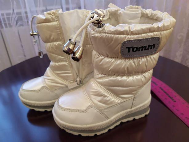 Чобітки (сапожки) зимові, дутики, термовзуття Tom.m