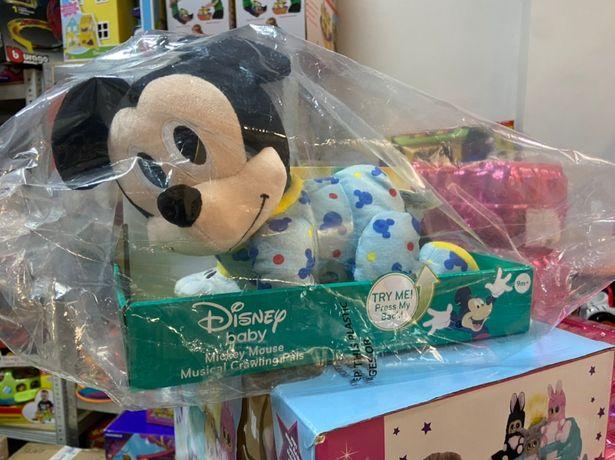 Mickey Mouse Disney Микки маус музыкальный ползает Оригинал США