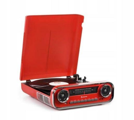 Gramofon retro Gramofon w stylu retro