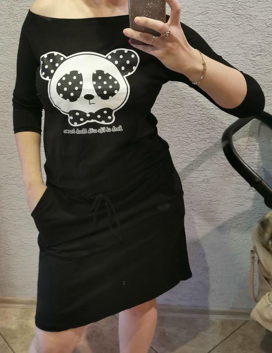 Nowa śliczna sukienka z panda xl tylko 59zl Wodzisław Śląski - image 1