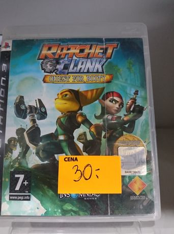 Gra na Playstation 3 Ratchet&Clank Quest for Booty