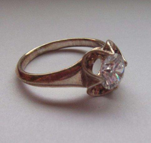 pierścionek srebrny 925 rozm. 17
