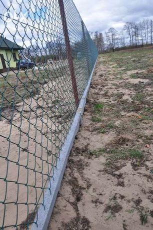 Kompletny materiał na ogrodzenie 38zł(siatka słupki płyta)
