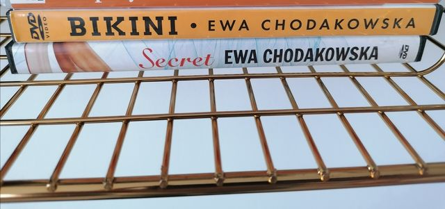 Ewa Chodakowska ćwiczenia płyty płyta dvd Secret bikini