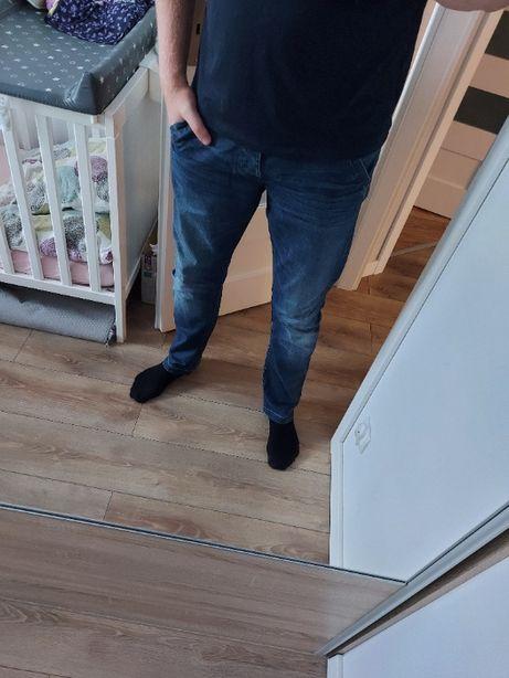 Spodnie długie jeans jeansy Cropp 34/34 męskie L34 W34