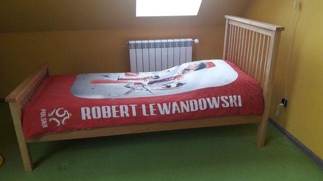 Łóżko drewno jesion