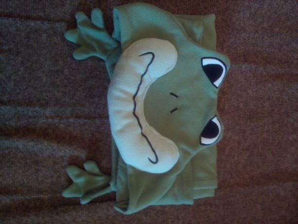 Плед одеяло- пончо.