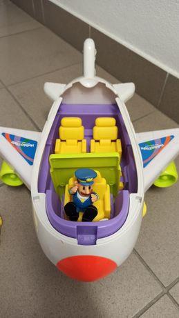 Samolot zabawka z pilotem