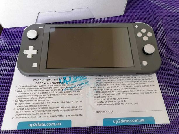 Nintendo Switch Lite, на Гарантии