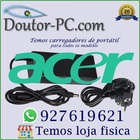 Carregador adaptador Portátil Acer Cabo bateria Transformador 65 90