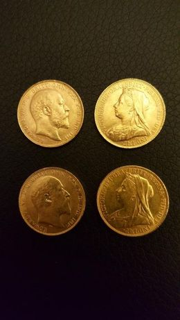 Quatro Libras em Ouro