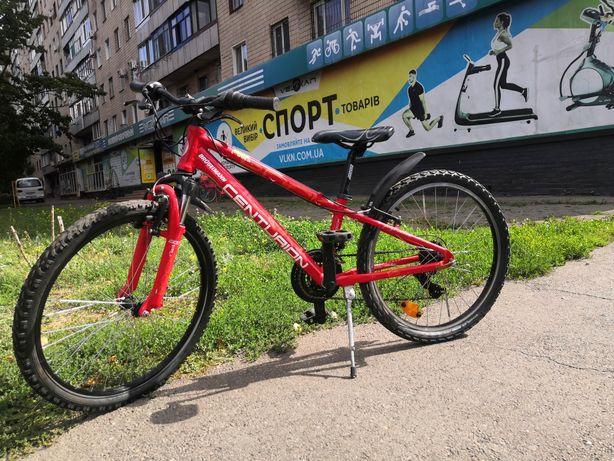 Велосипед горный, алюминиевый, 24 колеса
