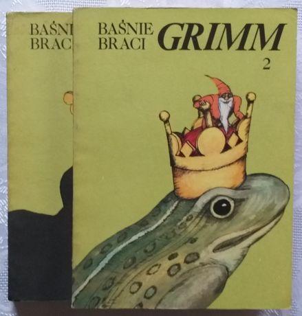 NOWA ! BAŚNIE Braci Grimm Rok 1987 Tom 1-2 autor Jacob i Wilhelm Grimm