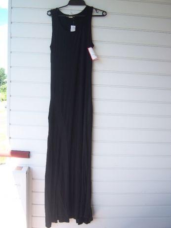 Nowa sukienka długa czarna Top U.S.A rozm. M przepiękna