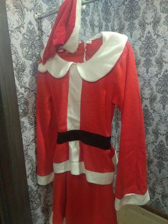 Продам новорічний костюм Снігурки, плаття дитяче ,,ніч''