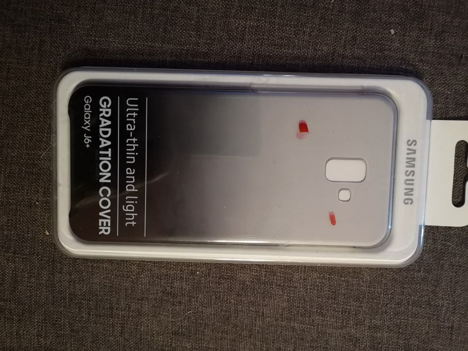 Etui do telefonu samsung j6 plus, case Łódź - image 1