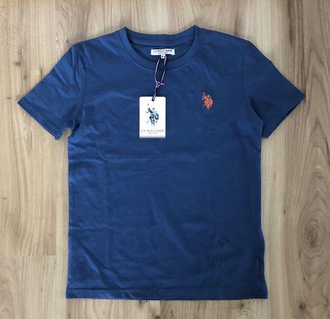 Nowa z metką koszulka, T-shirt U.S. Polo Assn. chłopięca, r. 128-134