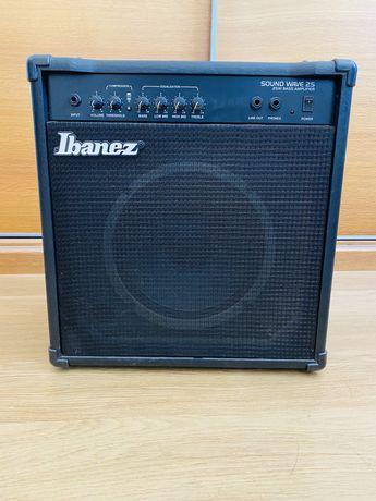 Coluna Amplificador Guitarra ou outro IBANEZ sound wave 25w bass amp