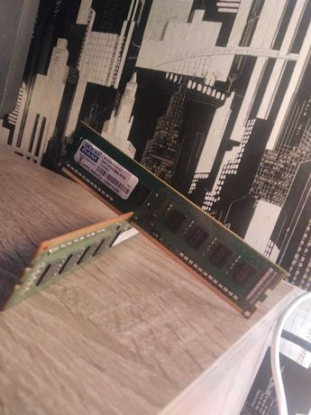 Pamięć RAM DDR3 4GB 2x2GB 1333mHz, Goodram 2GB, Samsung 2GB