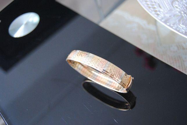 Wyjątkowa złota damska bransoletka 17 gram