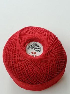 linhas de crochet Nº 12 e Nº 6