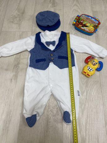 Детский костюм/человечек/бодик/слип/ромпер/костюмчик для новорожденных