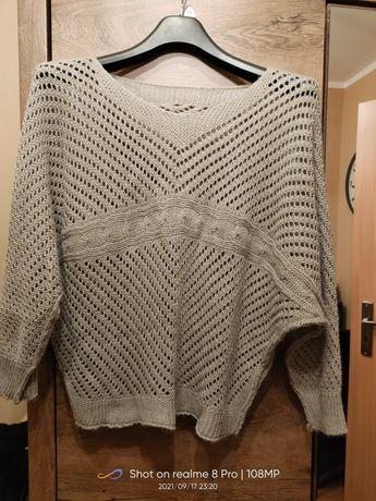 Sweterek ażurkowy uni