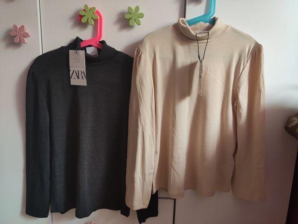 Zara nowa bluzka, koszulka 2-pak rozmiar 134