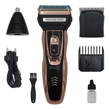 Электробритва сеточная и триммер для бороды GEMEI/Geemy GM-595 с аккум