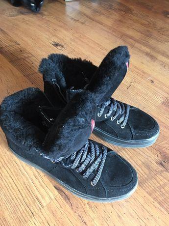 Зимние ботинки натуральные 38р