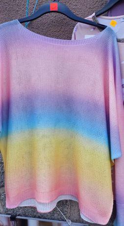 Sweterek  teczowy