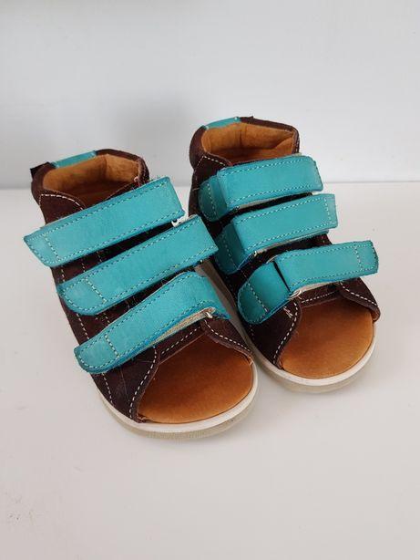 Aurelka,  aurelki rozmiar 19, sandały , ciapy