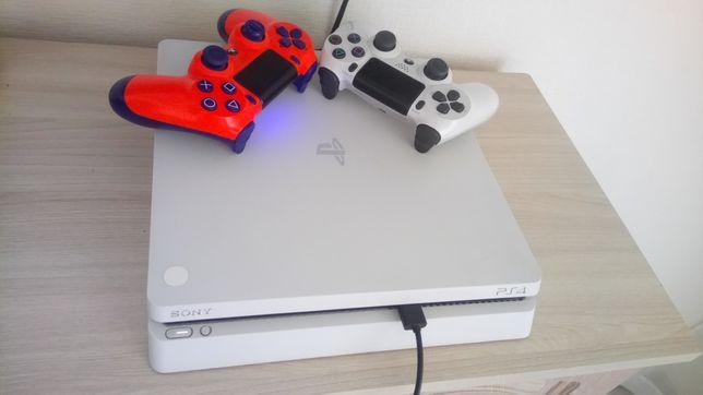 Продам Playstation 4 Slim White 500 gb