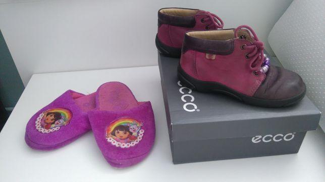 R. 24 Buty ECCO + Dora klapki gratis