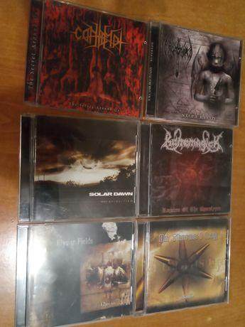 Płyty CD z Empire Records Thrash 'em All. Metal Thrash Death Black