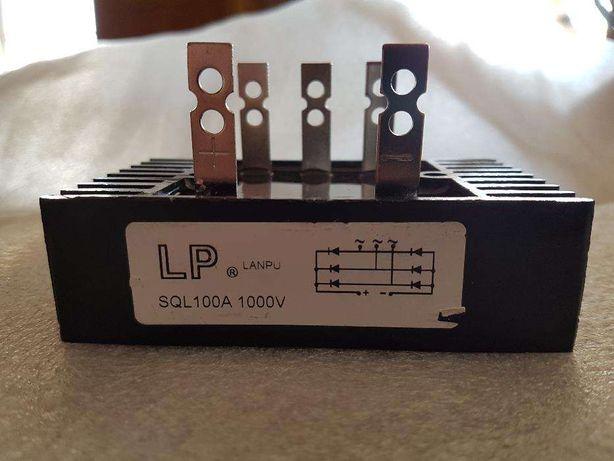 Ponte retificadora trifasica 1000 V 100 AMP para Gerador Eolicos