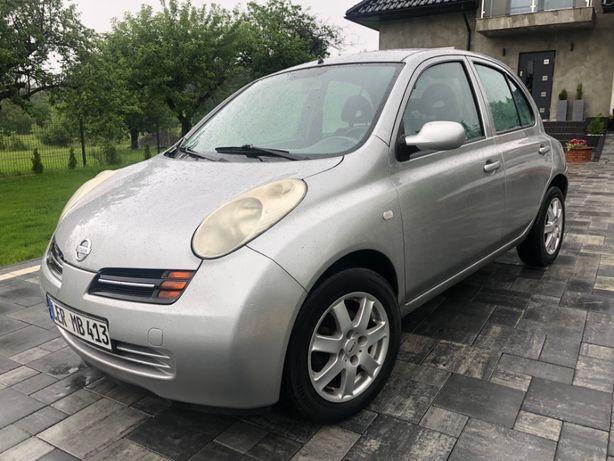 Nissan Micra*2004 rok*Klima*5 drzwi*Po opłatach*Zamiana*Raty od 100 zł