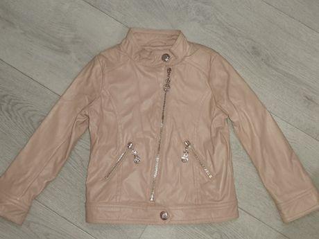 Куртка из эко-кожи размер 98