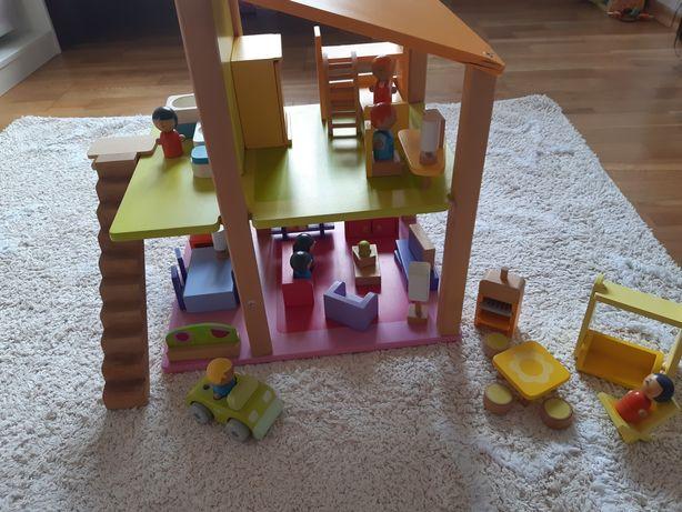 Sevi, drewniany domek 1+