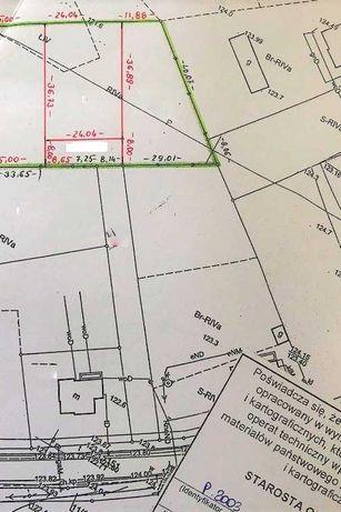 Sprzedam działkę budowlaną w Piekarach na nowym mini osiedlu