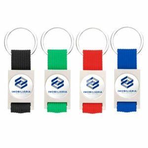 Porta Chaves com imagem, logotipo,  texto ou símbolo