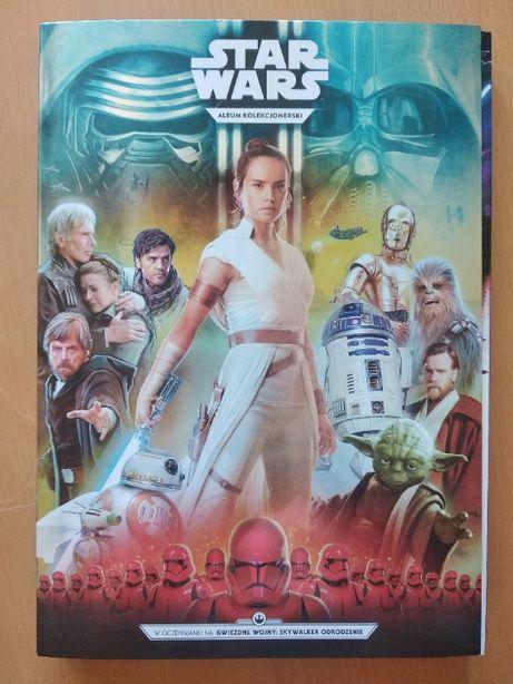 album kolekcjonerski STAR WARS z kartami