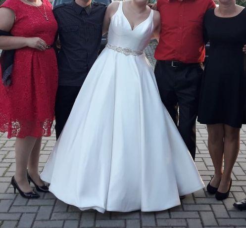 OKAZJA! Sprzedam Suknia ślubna MORILEE! ELEGANCKA - przepiękna HIT!