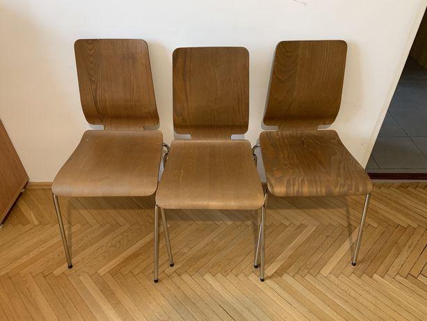 3 krzesła Gilbert IKEA
