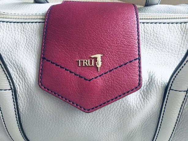 Tru Trussardi torebka torba skórzana Tru Jeans